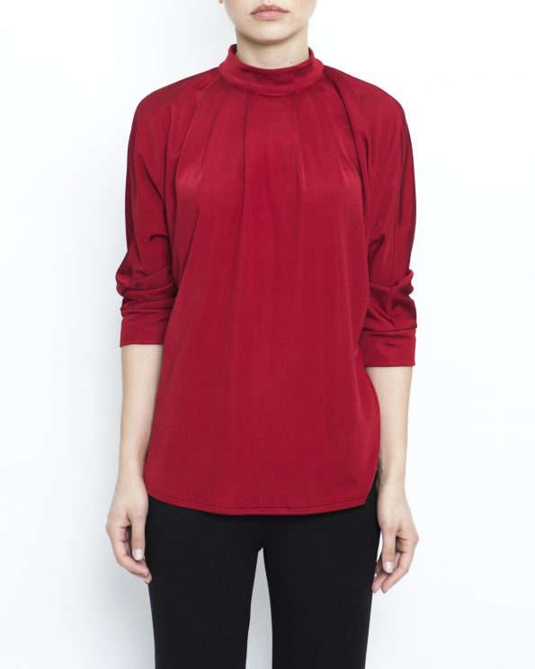Rayon jersey top