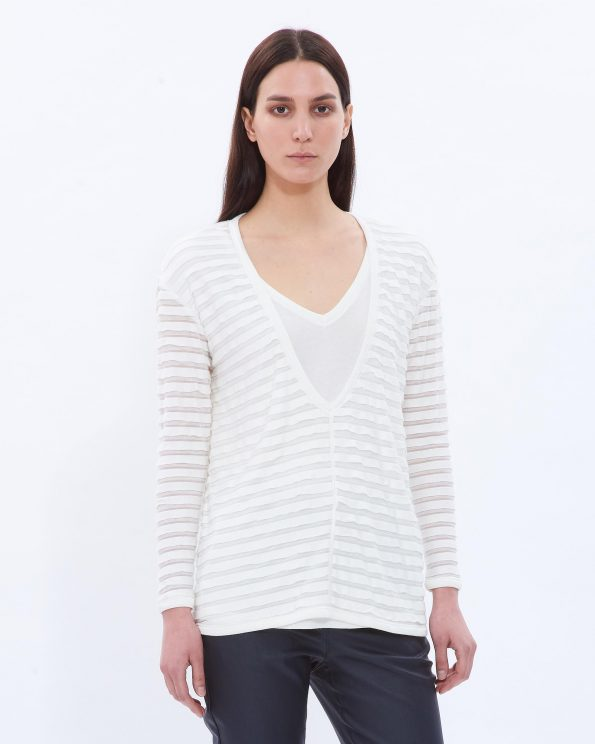 V-neck Double Top